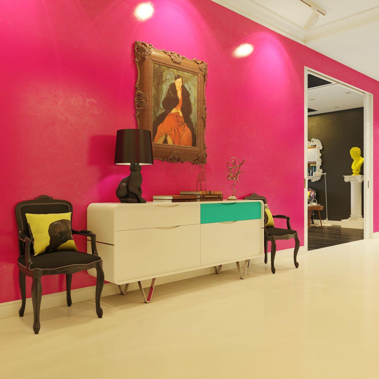 Современная квартира в стиле поп арт: Фотообзор яркого пространства