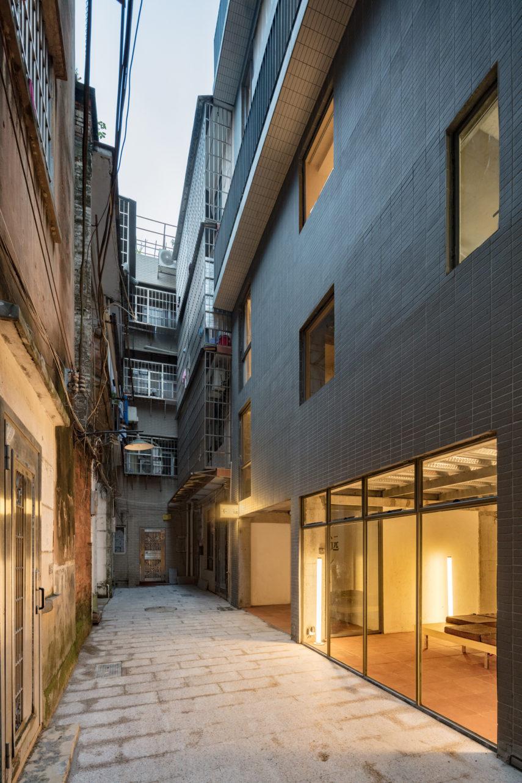 Гестхаус с матовыми окнами в Китае: Фотообзор нестандартного дома