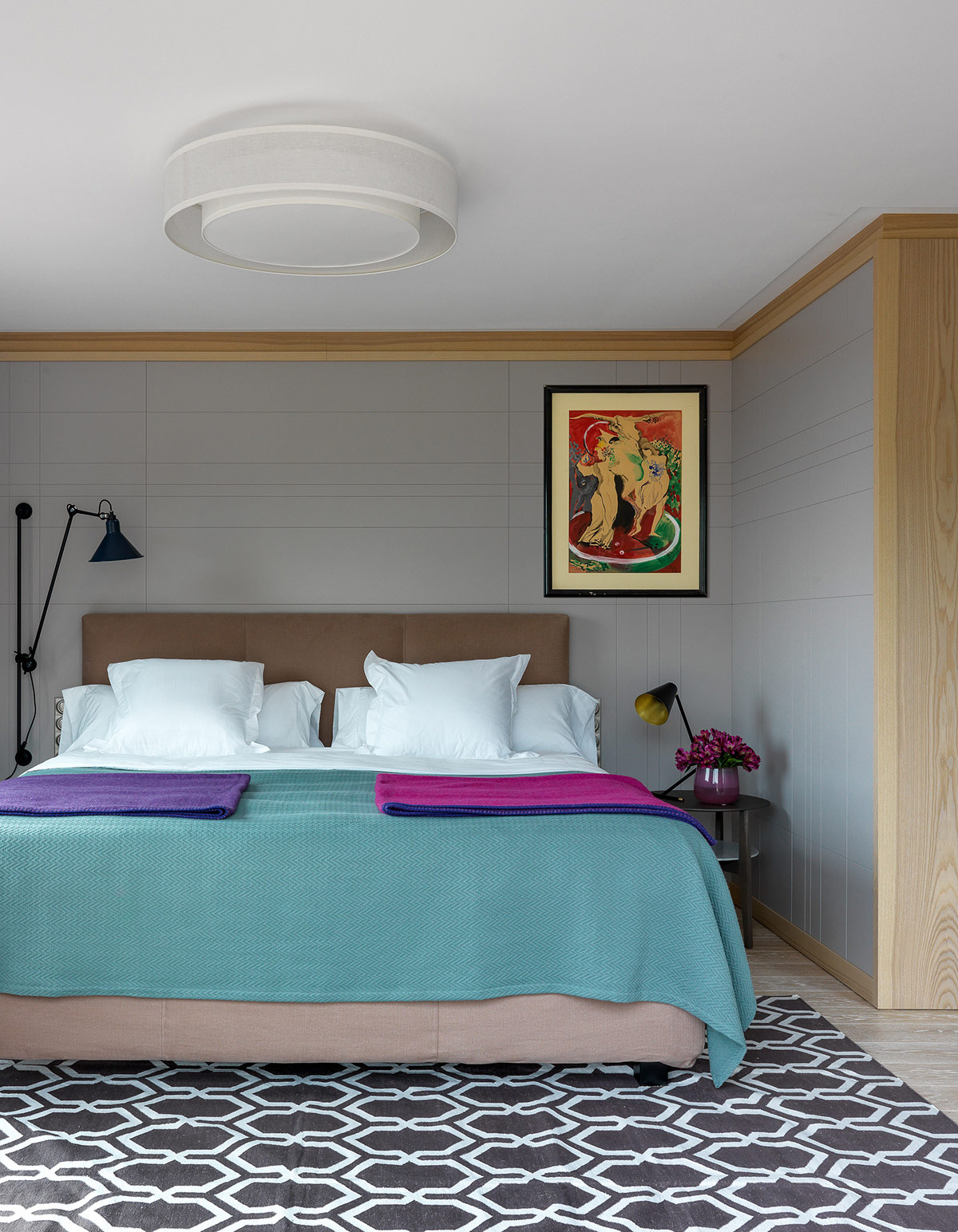 Радужный дом-мечта в Барселоне: Фотообзор