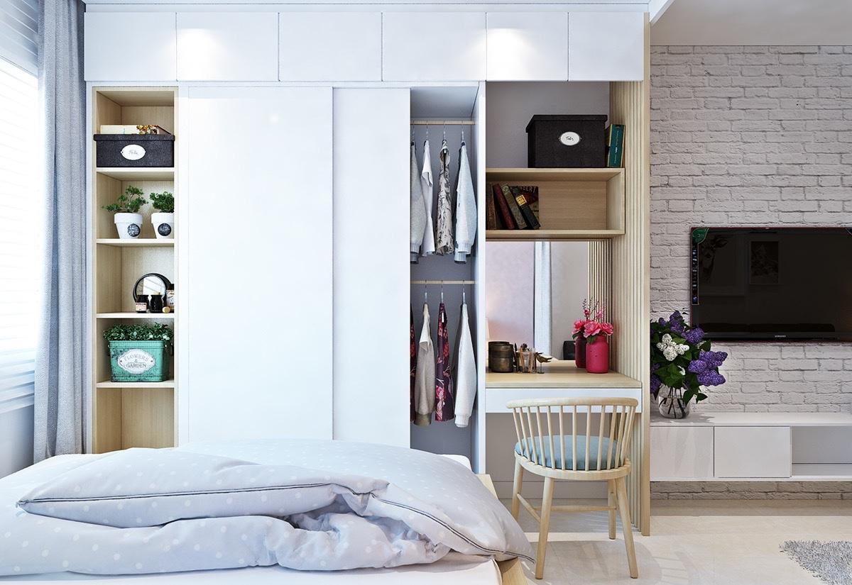 Пастельные тона в компактных дизайнерских аппартаментах: Фотообзор