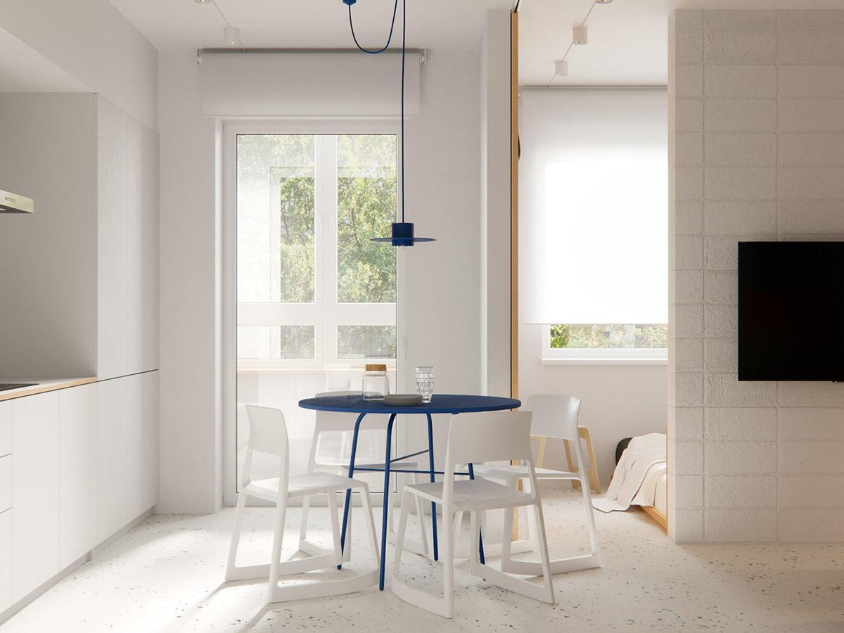 Идеальный минимализм: Фотообзор маленькой квартиры
