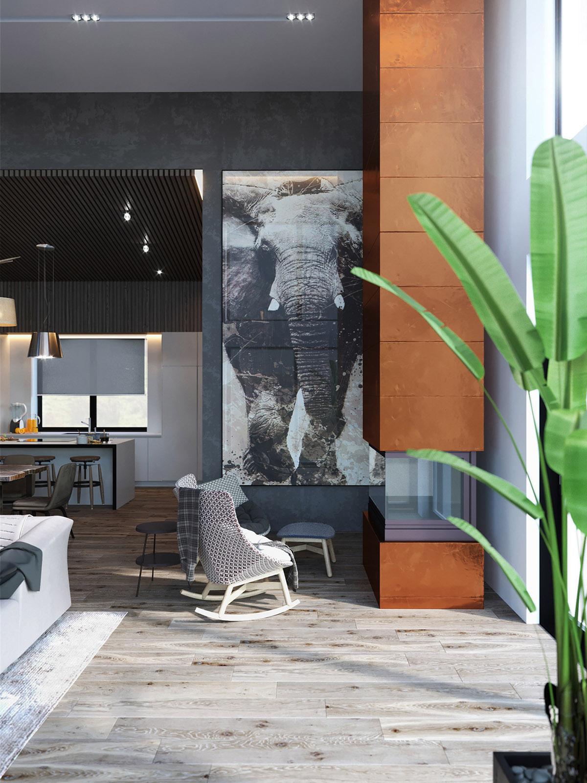 50 оттенков серого: Фотообзор изысканного интерьера