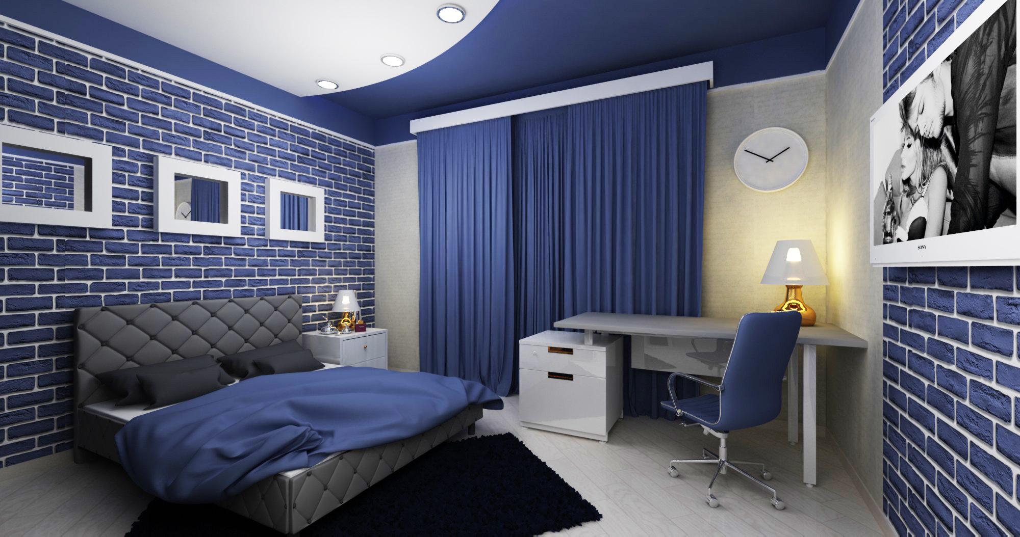 Комната мальчика-подростка – полигон для самых смелых дизайнерских экспериментов