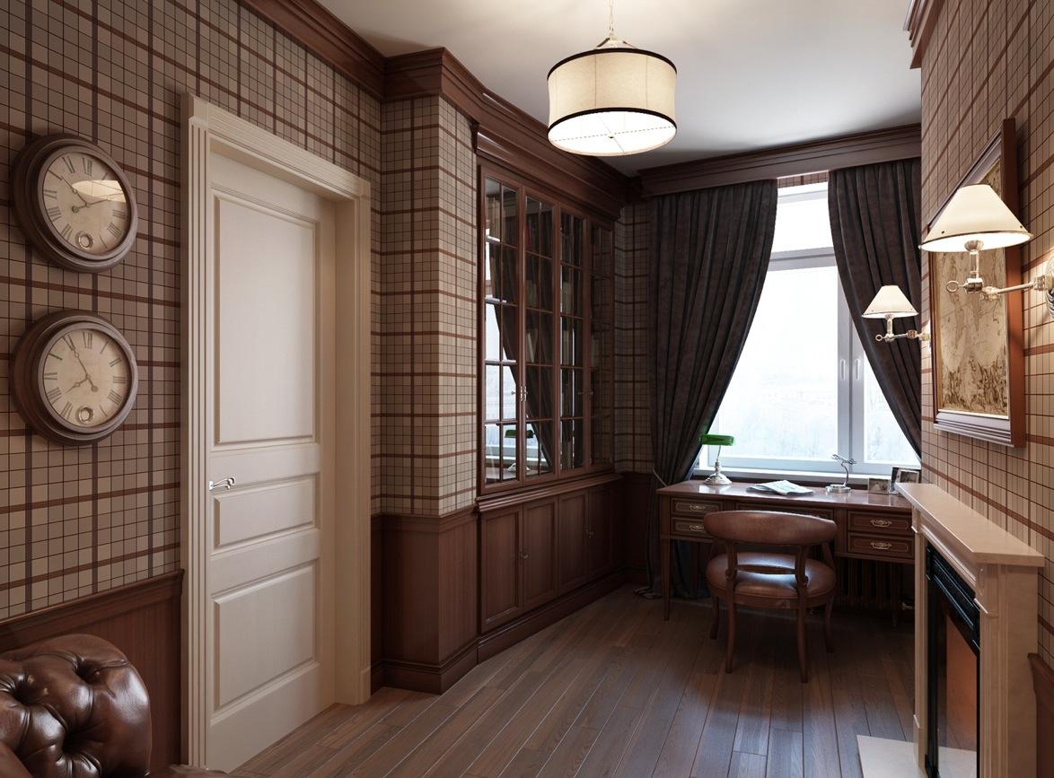 Санкт-Петербургская квартира с традиционным уклоном: Фотообзор классического интерьера