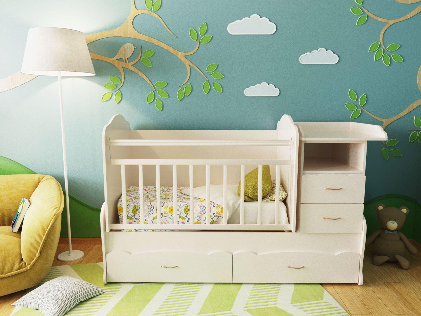 Кроватка для новорожденного: на что обратить внимание при покупке