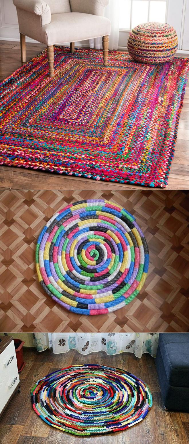 Как сделать коврик своими руками? Топ 10 идей