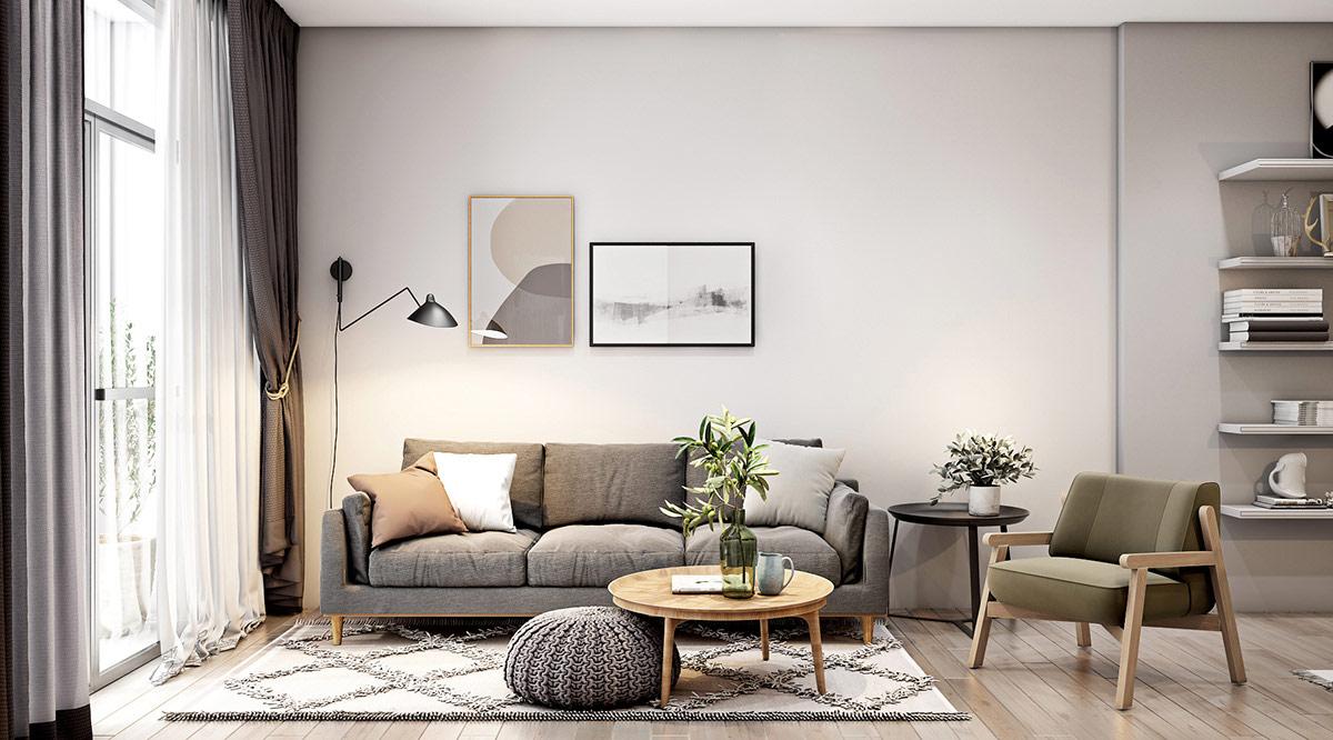 Как оформить компактную квартиру: Стильный фото-пример