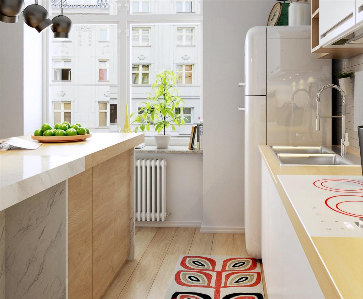 Потрясающие апартаменты, которые демонстрируют красоту скандинавского дизайна: Фотообзор