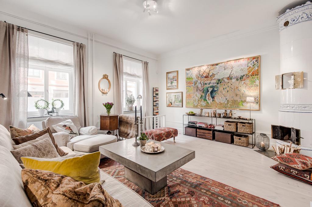 Дом в скандинавском стиле с греческим уклоном: Фотообзор