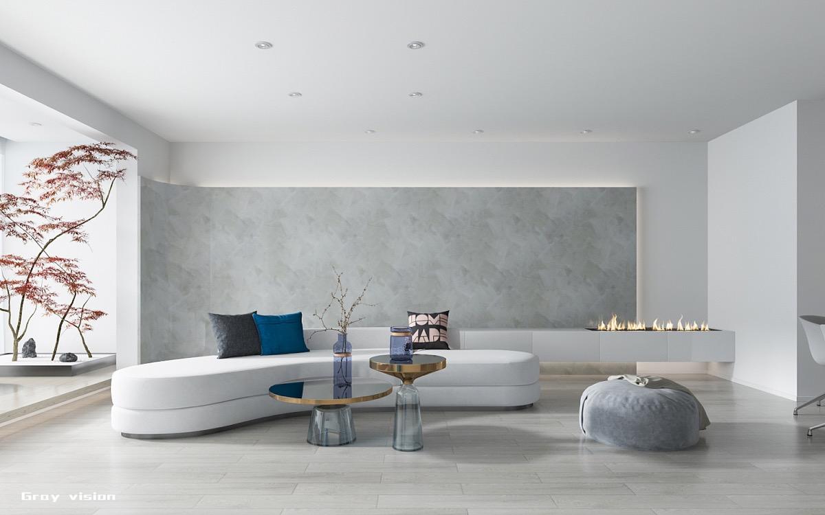 Минималистский дом с элементами китайского дизайна: Фотообзор
