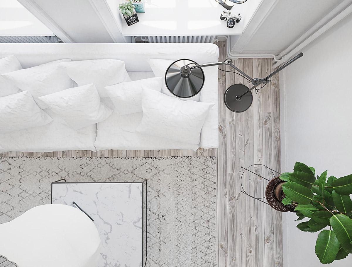 Идеальная бледность: Фотообзор светлых интерьеров в скандинавском стиле