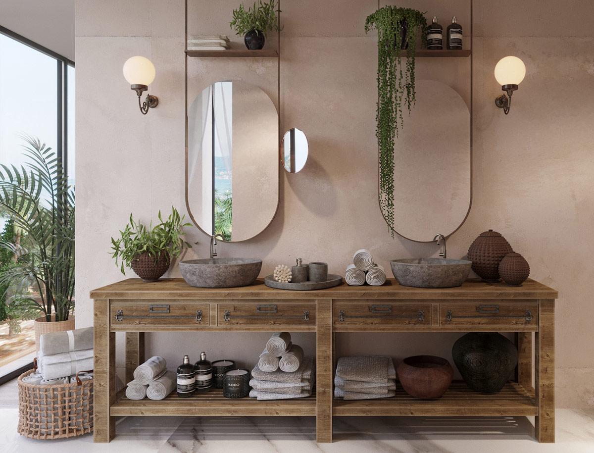 Этнический стиль в интерьере: Фотопример красивого дома