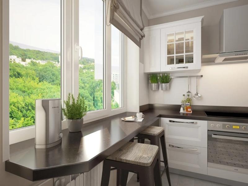 6 хитростей, как сделать маленькую кухню стильной и удобной