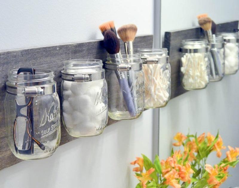 Любопытные идеи для небольших ванных комнат