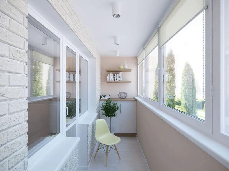 8 оригинальный идей использования пространства на балконе