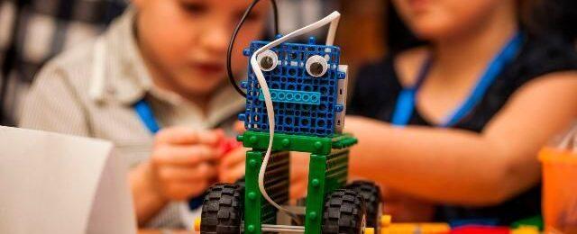 Робототехника и конструкторы LEGO - первые шаги к научным открытиям